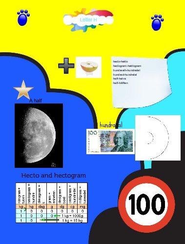 Affisch med olika mattematiska uttryck på.