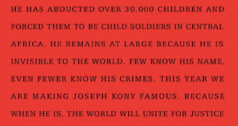Fakta kring Joseph Kony.