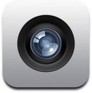 Appen kamera på iphone.