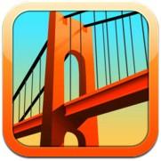Logotype för appen bridge constructor.