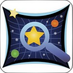 Ikonen för appen google star map.