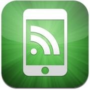 Logotype för appen mobilrss.