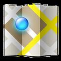 Logotype för appen maps.