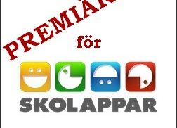 Logotype för skolappar.