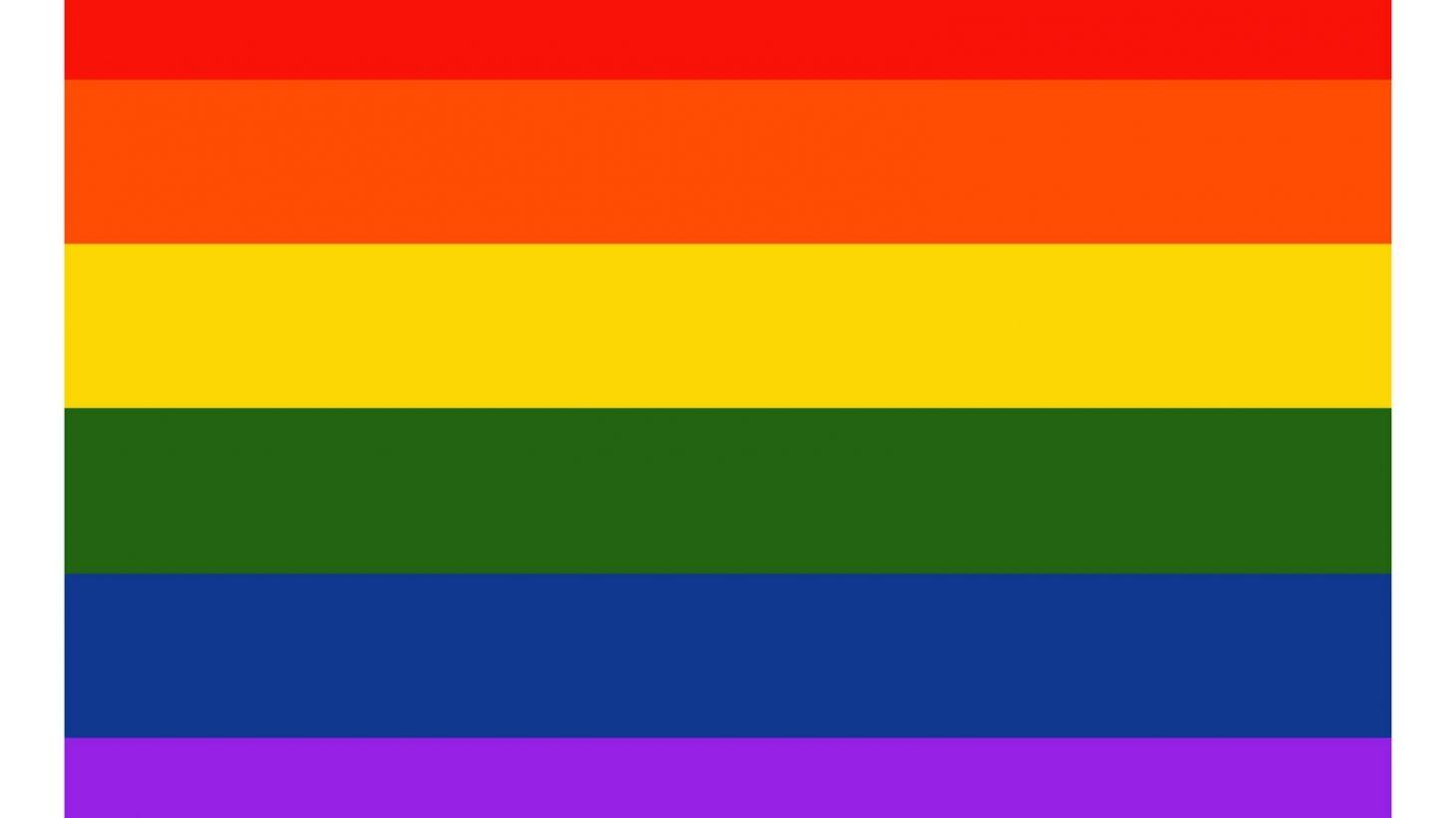 Prideflagga.