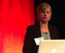 Hanna Stehagen föreläser på SETT.