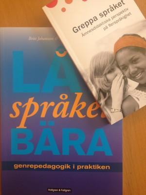 Bokomslag till Greppa språket.
