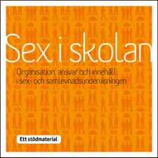 Omslag till stödmaterialet Sex i skolan.
