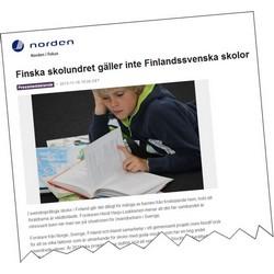 Skärmavbild från norden.se