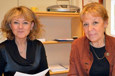 Gunilla Rasmusson och Elisabeth Troberg