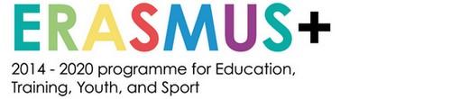 Logotyp för Erasmus.