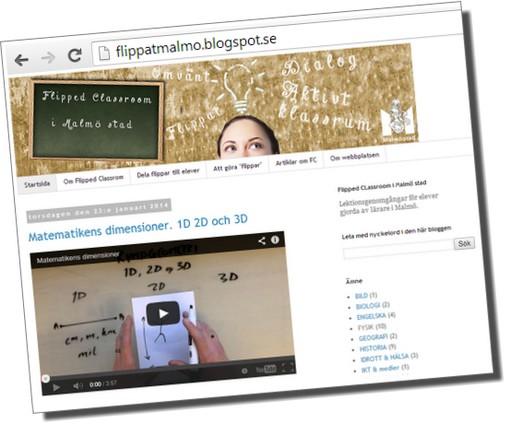 Skärmbild av flippatmalmo.blogspot.se