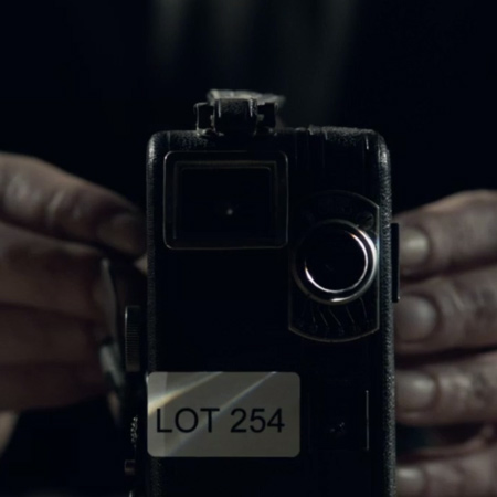 Gammal kamera.