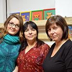 På Korrebäckens förskola arbetar bl.a. Arabela Cosovic, Patricia Carpanetti-Larsen och Susan Olsson.
