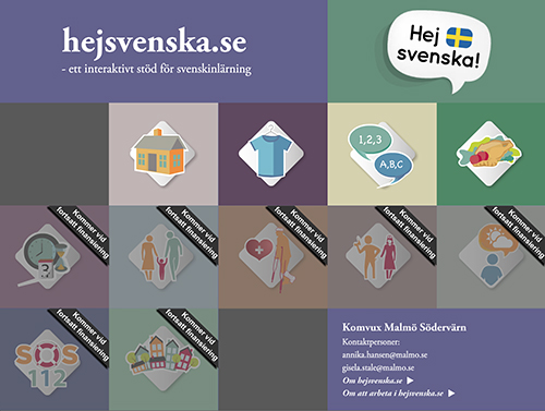 Avbild av materialet hejsvenska.se