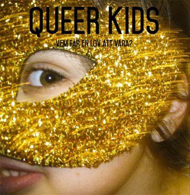 Inbjudan till möte med queer kids.