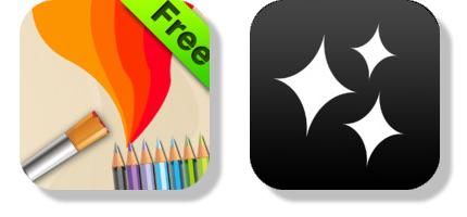 Gratisapparna Drawing Free och Videolicious