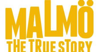 Logotyp Malmö the true story.