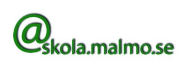 @skola.malmo.se står i grönt.