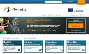 Skämbild av e-twinning.