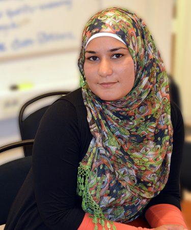 Kvinna från Hassela Movement.