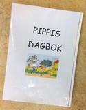 Omslag till Pippis dagbok.