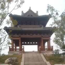 Kinesisk byggnad.