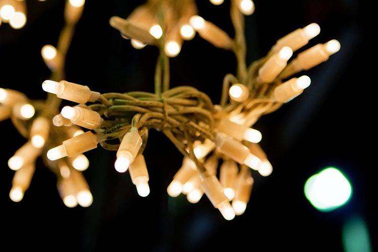 Ledlampor lyser.