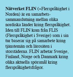 Fakta om nätverket FLIN
