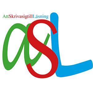 ASL står i färgglada bokstäver.