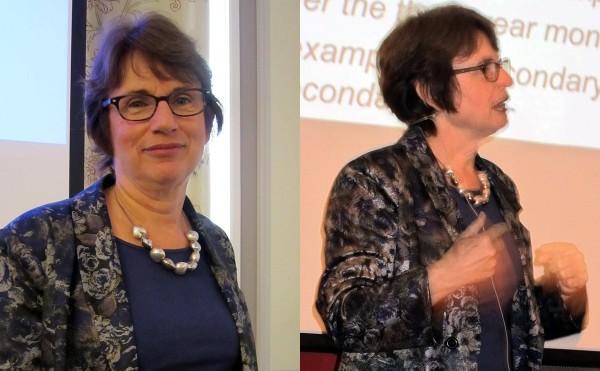 Helen Timperley föreläser.