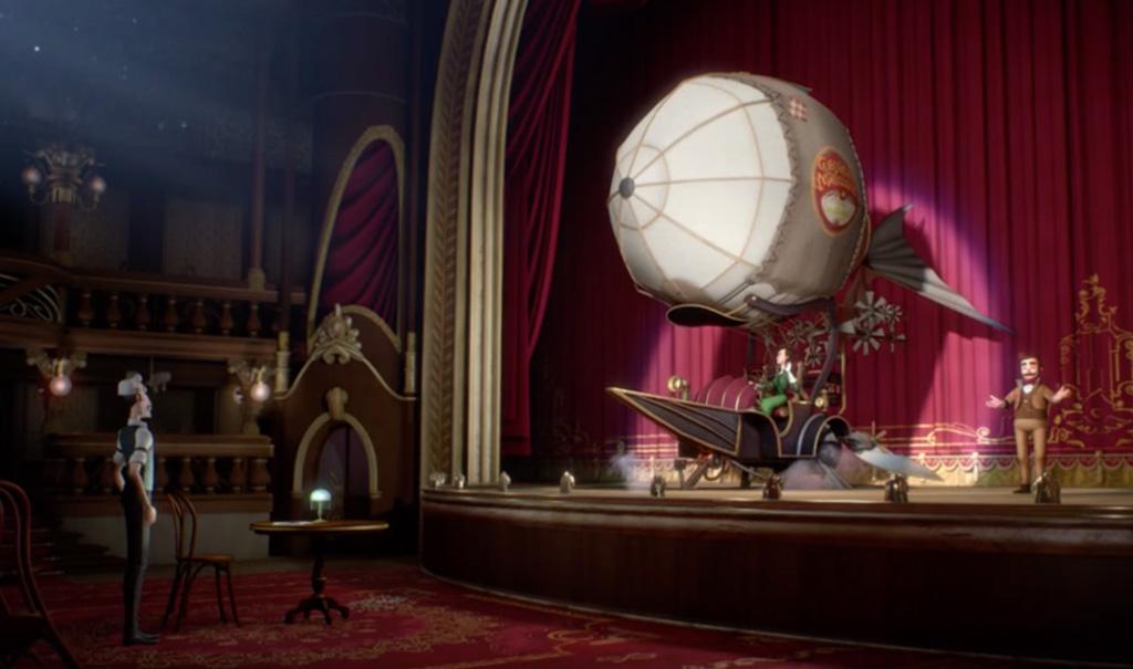 """Stillbild från kortfilmen """"1900–2000""""."""