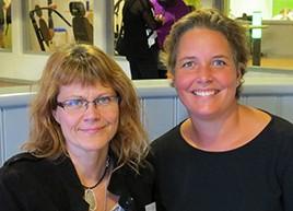 Christina Hultén och Linda Asplund.