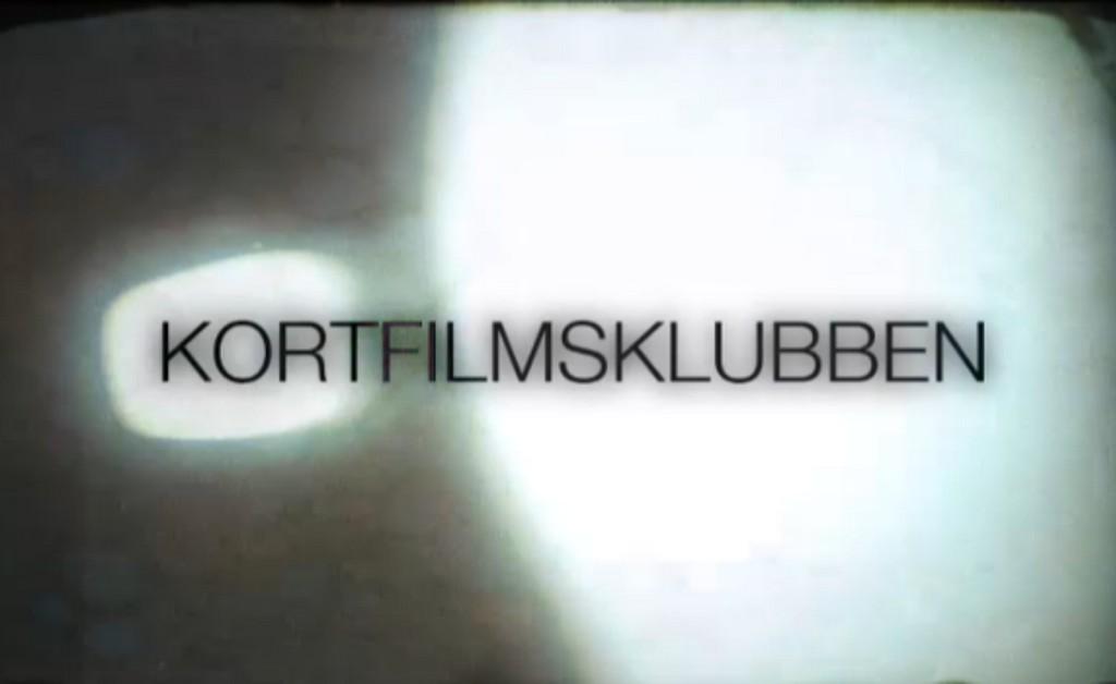 """Texten """"Kortfilmsklubben""""."""