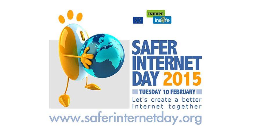 Affisch för Safer Internet day 2015.