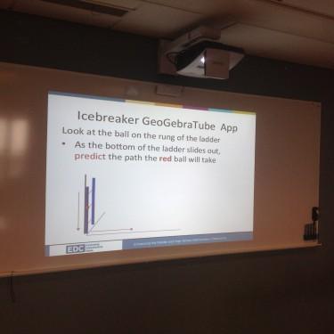 Presentation om Geogebra.