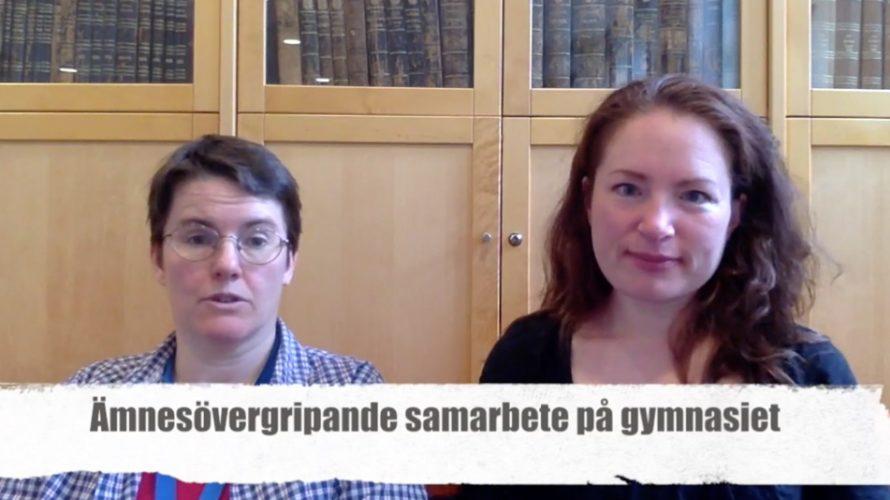 Karolina Göransson och Camilla Lindskoug.