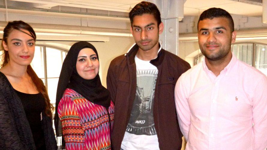 Hiba Alkuheli, Alaa Imnati, Farid Razwan och Omar Mohsen