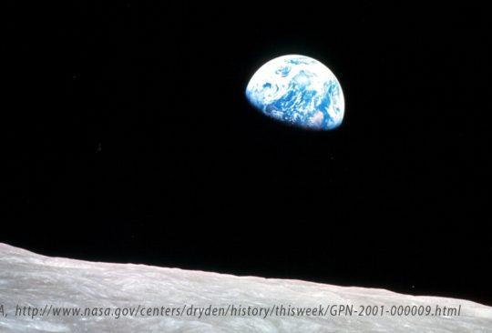 Jorden sett från rymden.