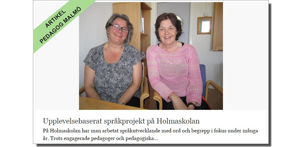 Ingrid Olsson med Susanne Karlström.