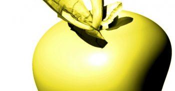 Guldigt äpple.