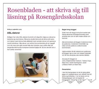 Skämbild av blogg om ASL.