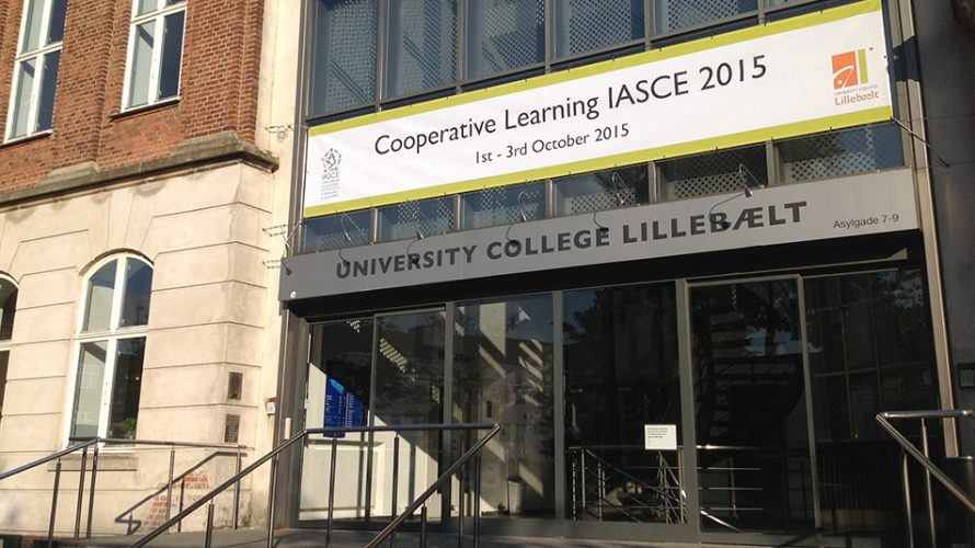 Ingång till University College Lillebealt.