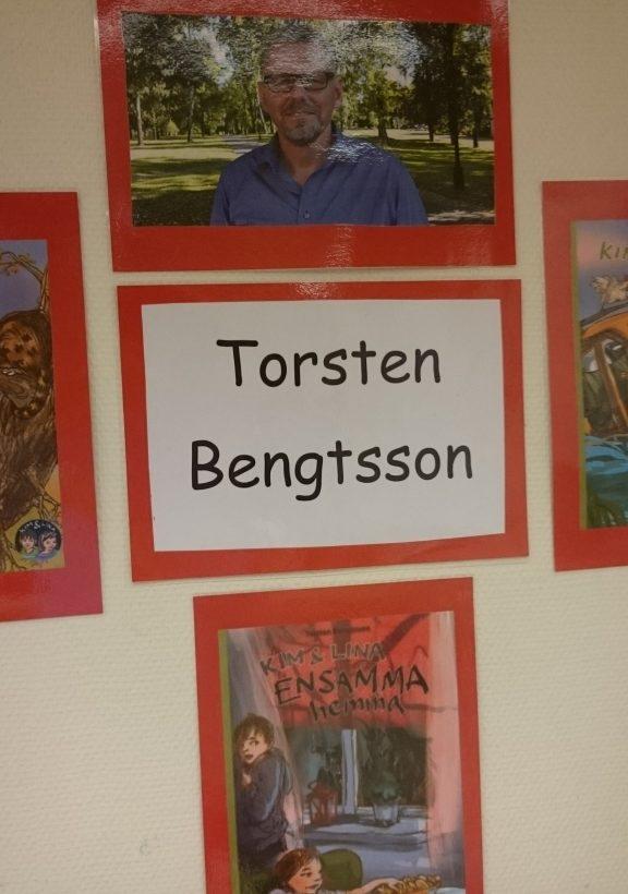 Bilder på Torsten Bengtssons böcker.