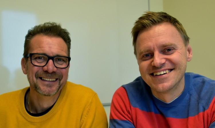 Jörgen Ekberg och Magnus Jervill.