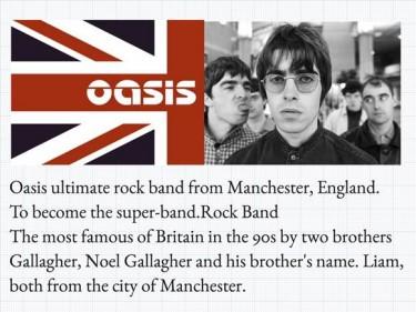 Oasis och text om oasis.