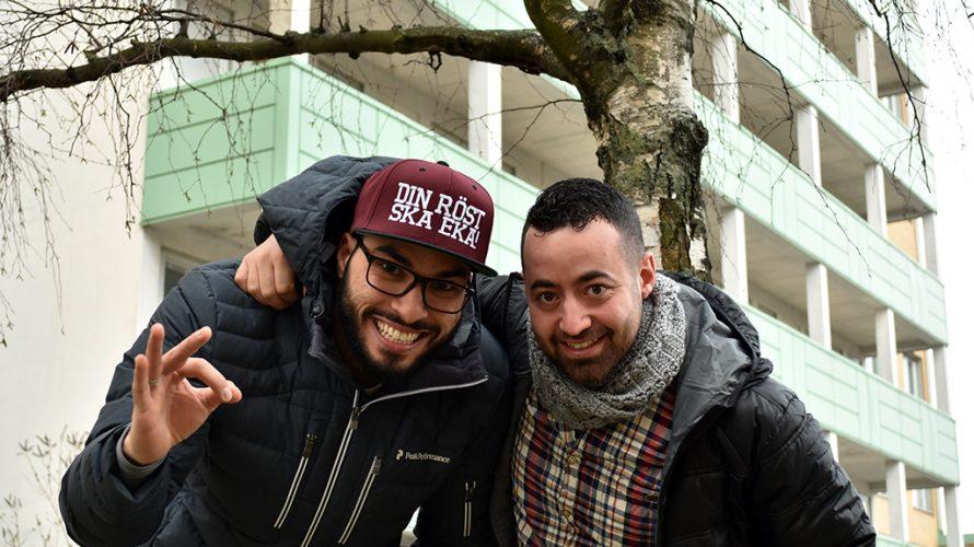 Jassim Ahmadi och Alaa Mohausen.