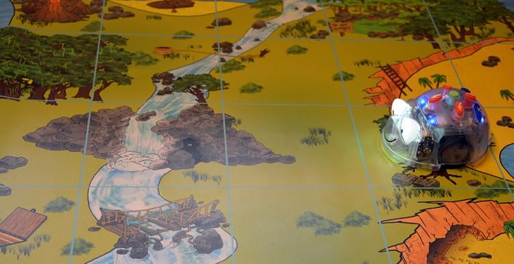 Bluebot på karta.