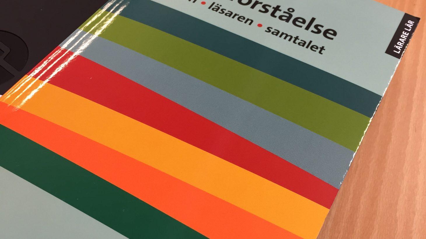 Bokomslag till Vägar till läsförståelse.