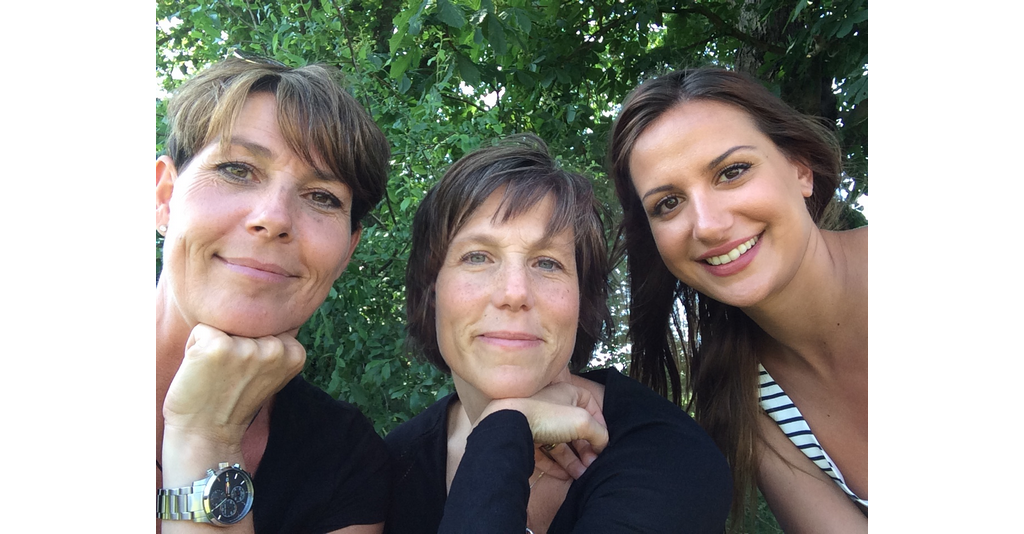 Anna, Katharina och Belma.